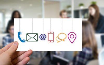Pour votre sécurité la communication digitale!